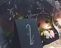 Wedding Expo 2015 Calligraphy Samples