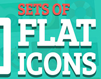 Free Flat Icons (60 Sets)