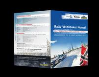 Brosjyre – Rally-VM tilbake i Norge!