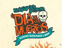 IAC Dia de los Muertos branding