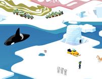Danoninho Ice - O mundo de gelo de Danoninho