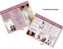 Tr-fold Brochure Design-Medical
