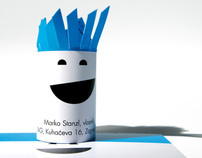 Frizitka - Business card for hairdresser