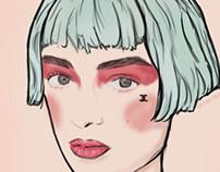Illustration Chanel Beauty  Cruise 13'
