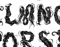 Hair + Typography