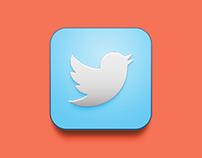 iOS Twitter icon redesign