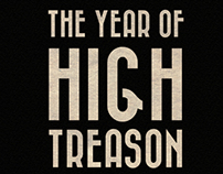 Book Cover re-design : The year of high treason