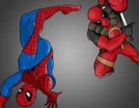 Spiderman vs. Deadpool
