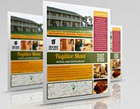 Motel and Restaurant Flyer