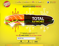 Subway Fresh Inch Campaign