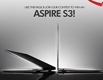 Acer Aspire Facebook Campaign