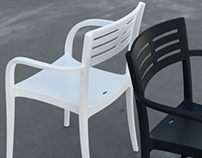 URBAN armchair - 2013 - Grosfillex