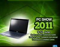 Acer PC Show and Iconia Facebook Campaign