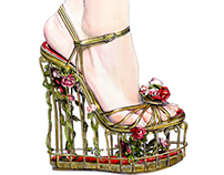 Dolce and Gabbana Fall Winter 2013 Heels