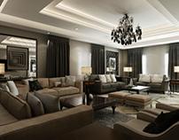 Residential Villa Reception Area