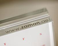 Zaman Branding 2013 calendar