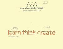 AAA School of Advertising Brochure
