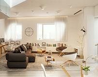 Hadid Residences - interiors