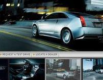 Cadillac Arabia Facebook Tabs