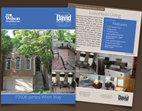 Homes with David – Home Brochure
