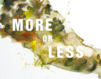 ﹣More or Less- Poster design of Heritage