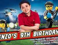 Enzo's 9th Birthday