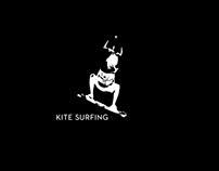 Qatar kitesurfing Summer 2013