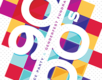 90s/00s Dance Party Poster