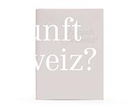 """Buch / Book """"Zukunft Schweiz?"""""""