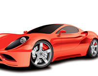 Illustration (Ferrari)