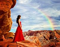 Jenn's Lens Photography.  Senior Model/Valley of Fire