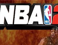 NBA 2K12 video game campaign