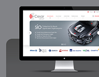 Cesar Website Design 2