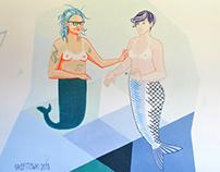 Sea stories (mermaids)