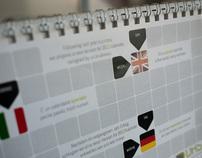 No Language Calendar - 2012