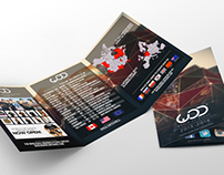 World Of Dance tri-fold brochure