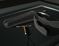 Speculum Tool 3D Study