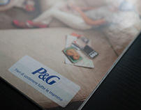 P&G campaign on RCS Spa publications - 2012
