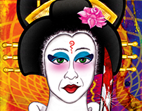 Psychedelic Geisha