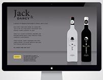 Jack & Darcy                 Premium Gentlemen's Vodka