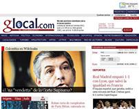 GLOCAL: Publicación periódica y Creación de Marca