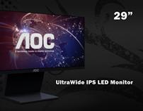 AOC Ultrawide IPS LED Monitor