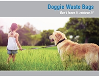 WAXIE Doggie Waste Bag Brochure