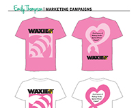 Marketing Campaign - WAXIE Breast Cancer Walk