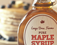 Leege Farms Maple Syrup