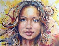 Oreshkina Y.I - Portrait