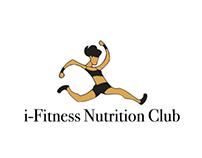i-Fitness Nutrition Club Logo Designed
