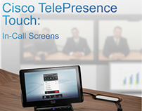 Cisco TelePresence Touch - In Call Screens