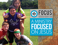 Print // FOCUS Student Ministries Card