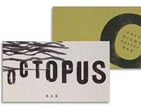 Octopus Bar Branding
